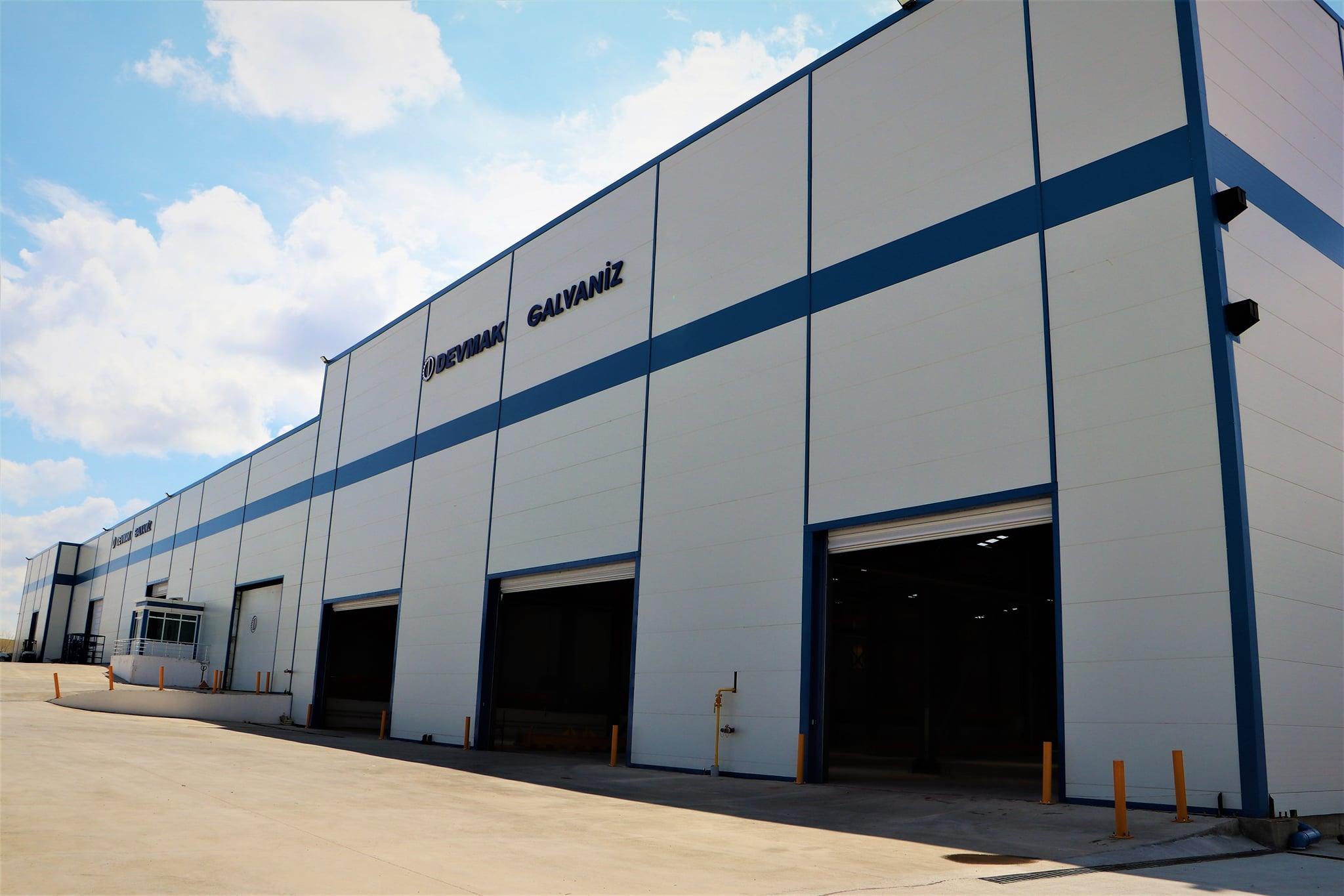 Çelik konstrüksiyon ve galvaniz sektöründe yükselen değer : DEVMAK GALVANİZ