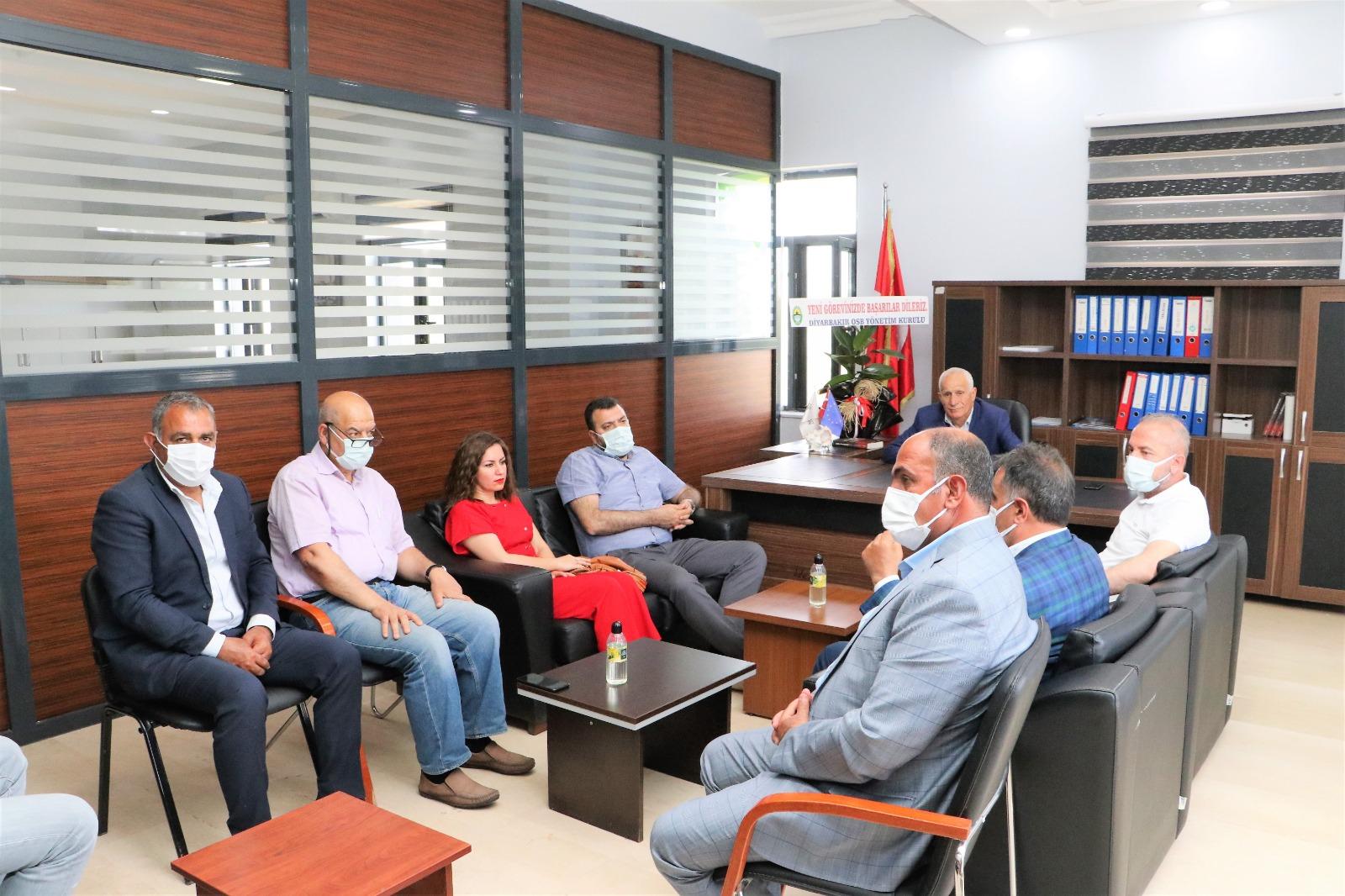 Yönetim Kurulu Üyelerimizden Dosiad Yönetimine hayırlı olsun ziyareti