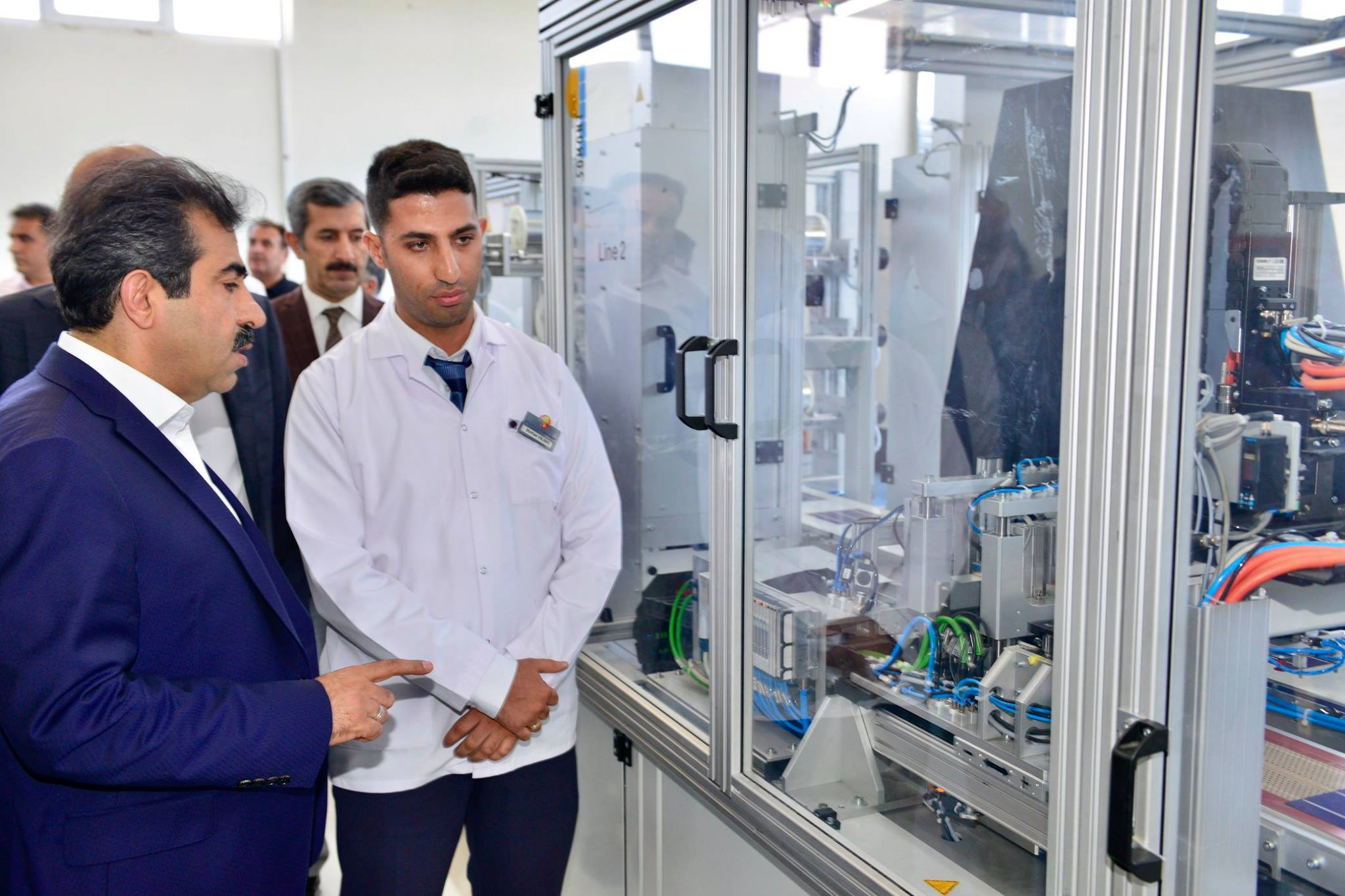 Diyarbakır Valimiz Sayın Hasan Basri Güzeloğlu, Organize Sanayi Bölgemizde Bulunan Sternlicht Energie ve Odabaşı Makine Fabrikalarını Ziyaret Ettiler