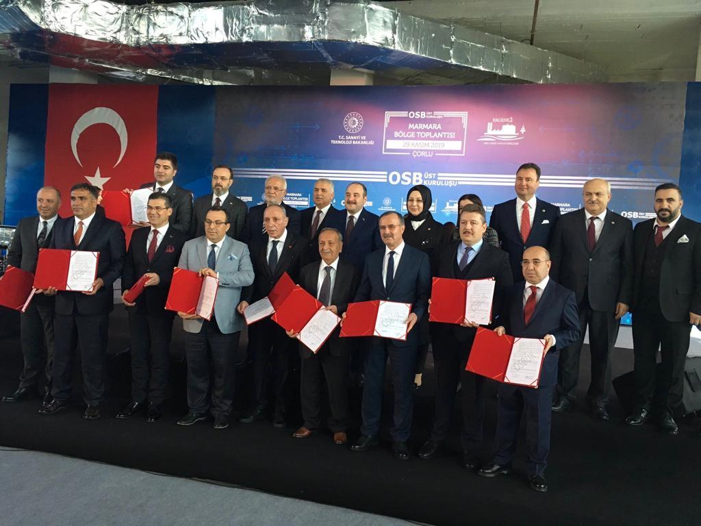 """Diyarbakır OSB, Bursa Nilüfer OSB ile """"Kardeş OSB"""" oldu"""