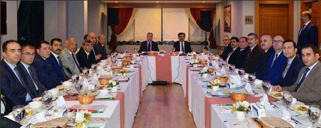 Sayın Valimiz Hasan Basri GÜZELOĞLU Başkanlığında Ekonomik İstişare Toplantısı Düzenlendi.